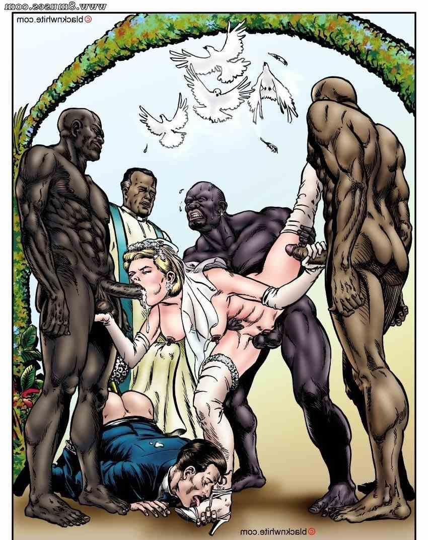 Black on white porn comics