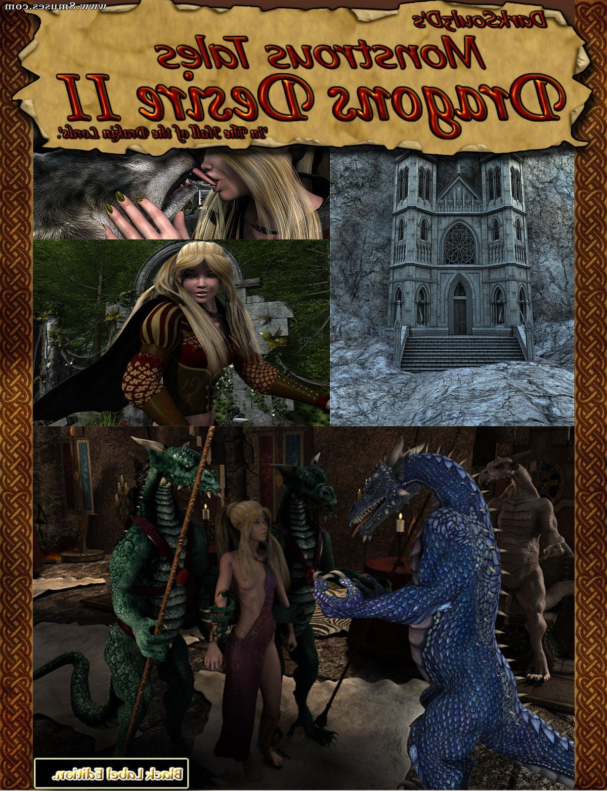 Monstrous Tales – Dragons Desire – Issue 2