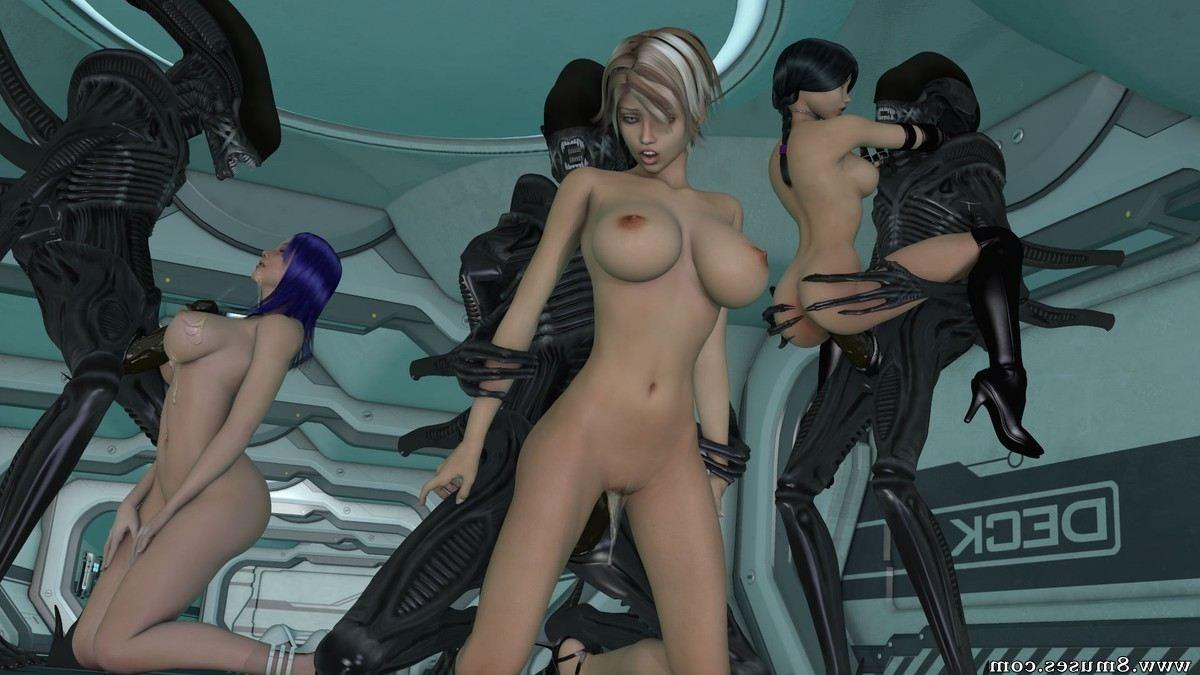 Skyla's first sex with alien