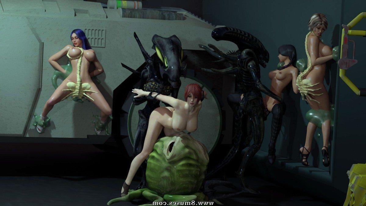 Sci Fi Space Girls Alien Sex Gifs