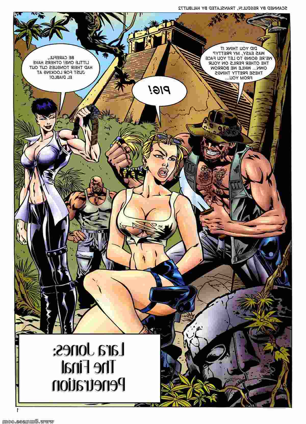 Jones comics sex Lara