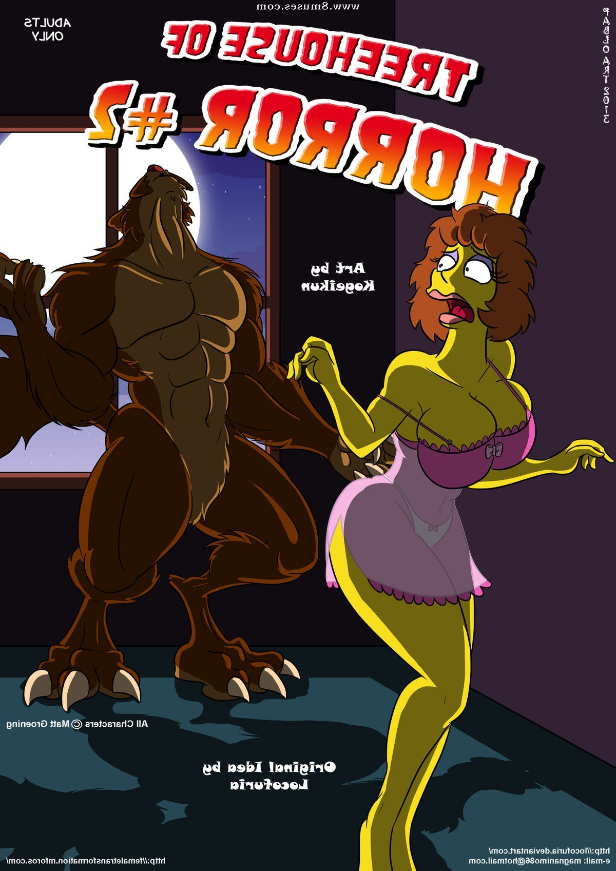 Locofuria-Comics/Treehouse-of-Horror/Issue-2 Treehouse_of_Horror_-_Issue_2.jpg
