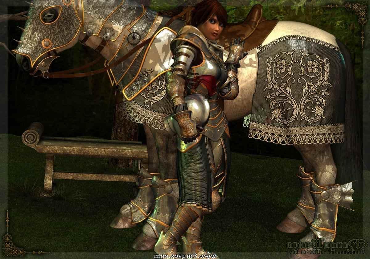 Bretonnia Knight and Horse
