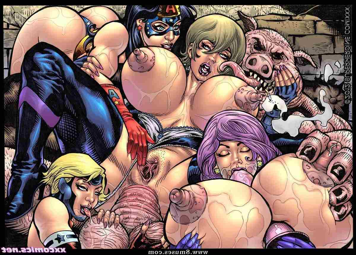 Sexy Superheroine Comics