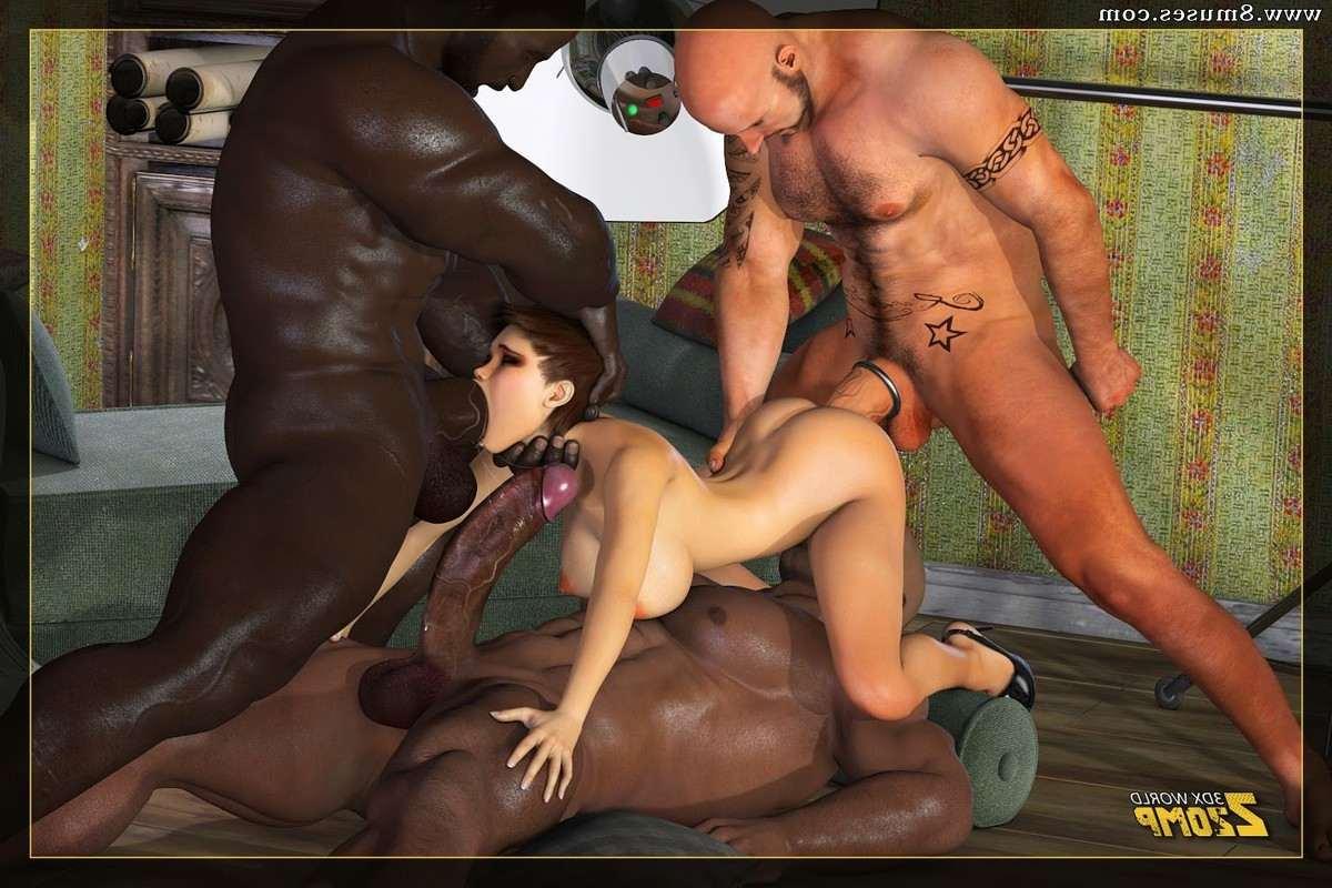 Shemale anal sex comics