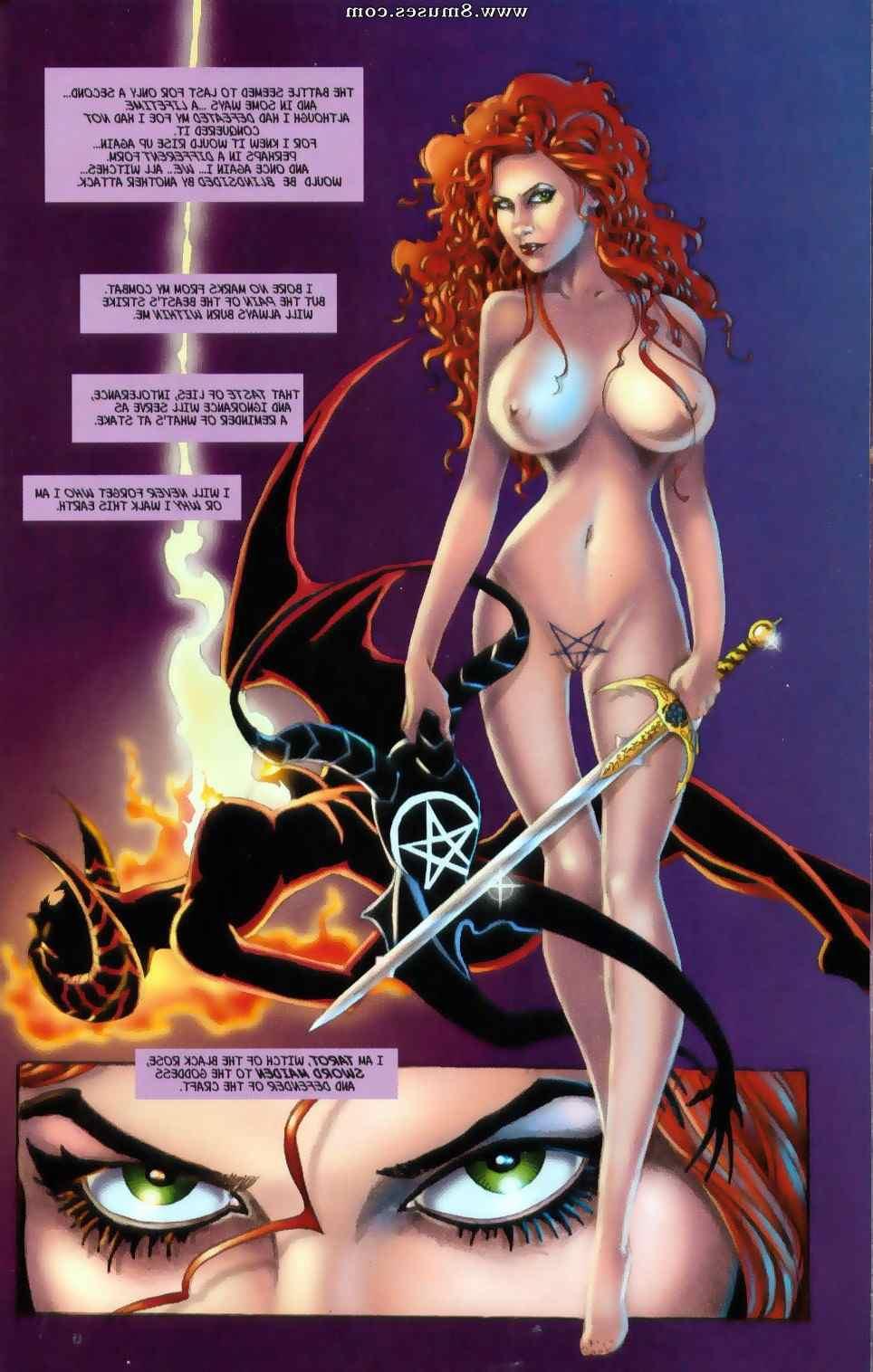 tarot witch of the black rose sex comics
