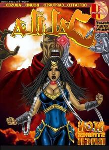 Jalila – Aton Strikes Back – Issue 1