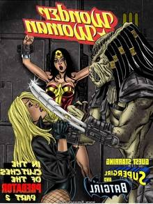 Wonder Woman vs Predator – Issue 2