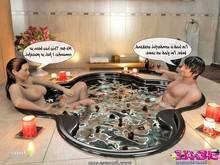 Jacuzzi Threesome