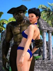 Sorceress Lori – Beach Day – Part 3