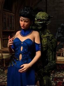 Sorceress Lori Sold To Demons