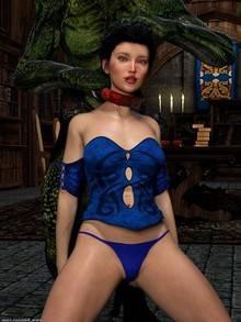 Sorceress Lori Sold to Demons – Bad Ending