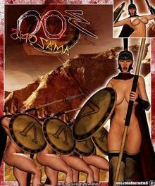 300 Amazons – Queen of Sparta