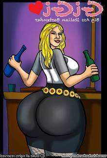 22. Gigi – Big Ass Italian Bartender