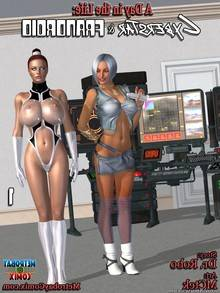 Cyberstar and Frandroid – Issue 1-7