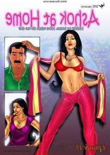 Savita Bhabhi – Episode 15  Ashok at Home