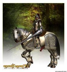 Arthurian or Bretonnian Knight