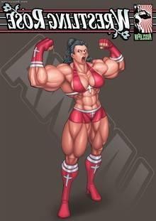 Wrestling Rose