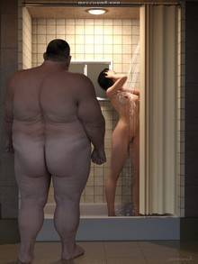 In The Shower Room