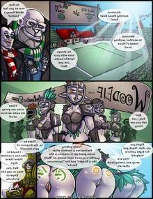 Blood Bowl the comic