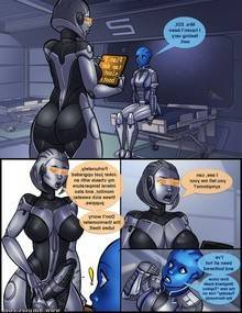 Mass Effect – Ass in Effect