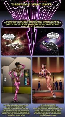 StarTrek Catfight Rift in Time