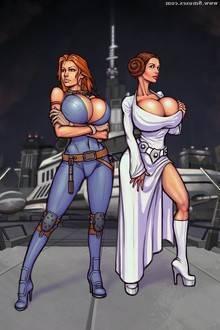 Leia and Mara