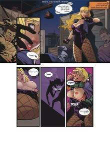 Black Canary Ravished Prey